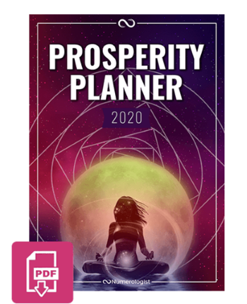 Image of the Prosperity Planner pdf file format download.