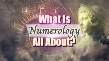 "Image text: ""What Is Numerology All About""."
