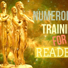 Image shows the text: Numerology Training for Readers.