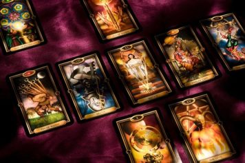 Occult illustrated with Tarot Cards to answer this Numerology FAQ.