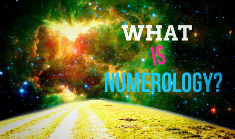 Image displays the text: What is Numerology?.